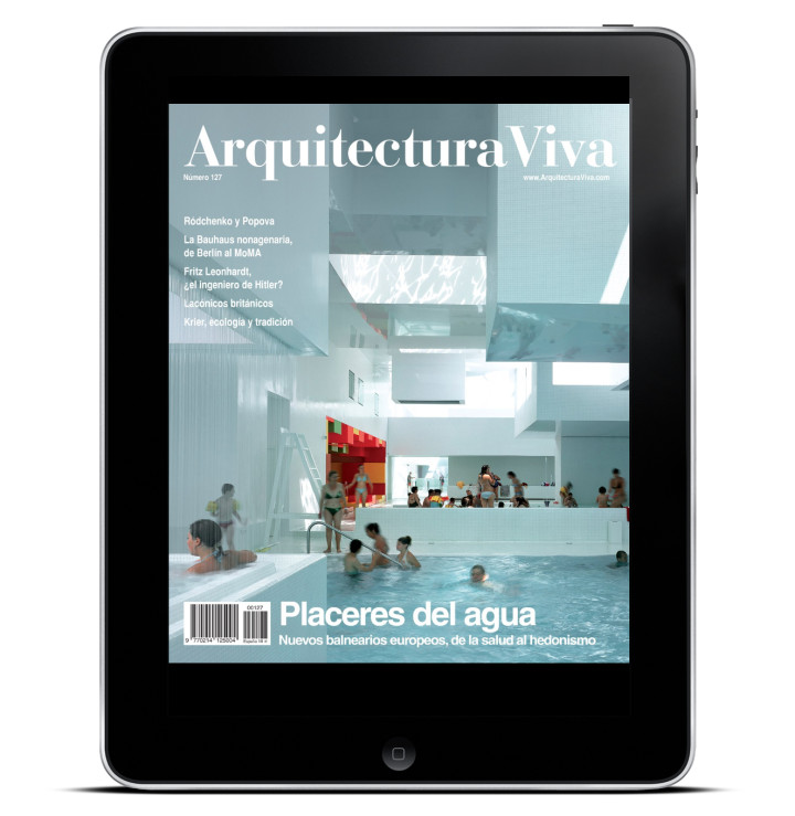 #ArchPAPERSapp Arquitectura Viva 127 The Pleasures of Water I Placeres del Agua