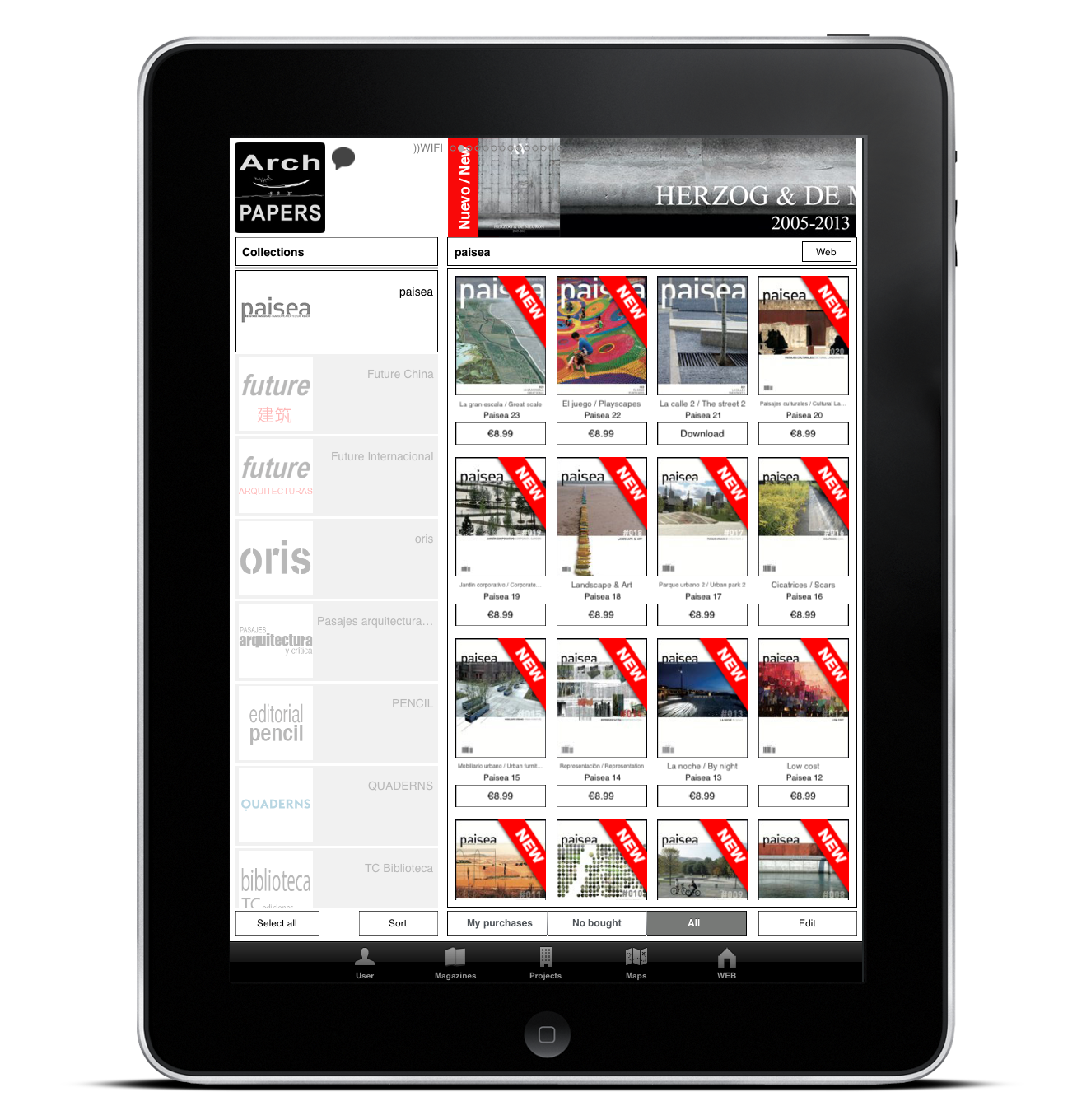 Paisea landscape architecture magazine available on archpapers app archpapers - Application architecture ipad ...