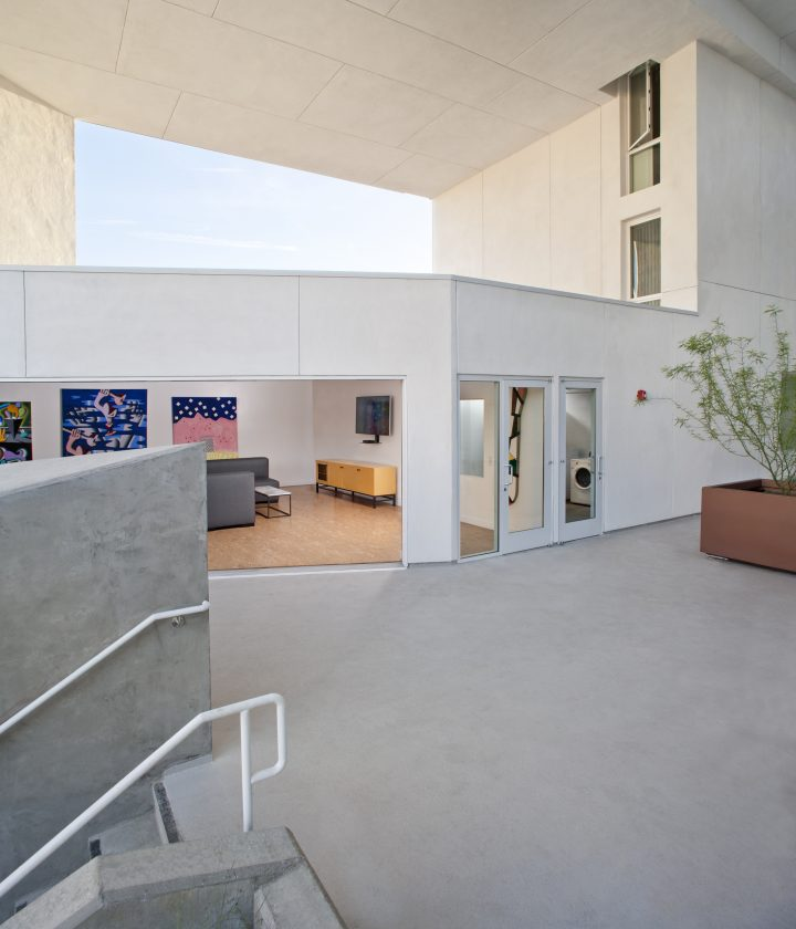 THE SIX : Affordable Housing for Disabled Veterans. Brooks + Scarpa. Photography: Tara Wujick