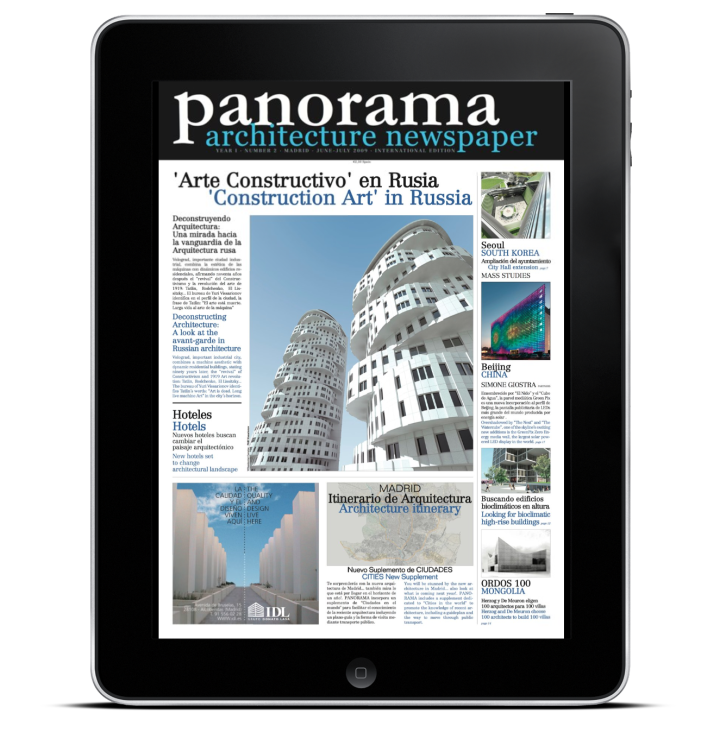 iPad ArchPAPERS I Panorama 02/ architectural newspaper