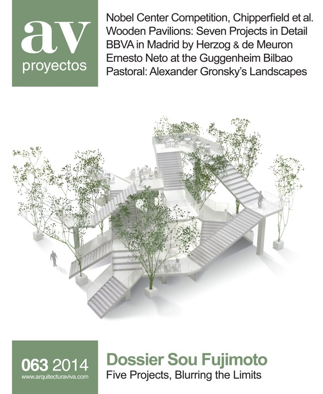AV Proyectos 063 Dossier Sou Fujimoto. ArchPAPERS HD Digital Editions. Architecture Magazines & Books